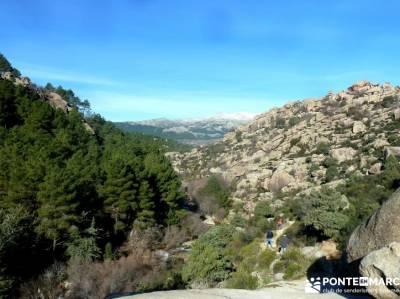 quema Turrón; El Yelmo, La Pedriza; actividades para grupos madrid fotos de senderos